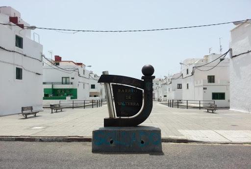 Fotografía del barrio de Valterra en Arrecife