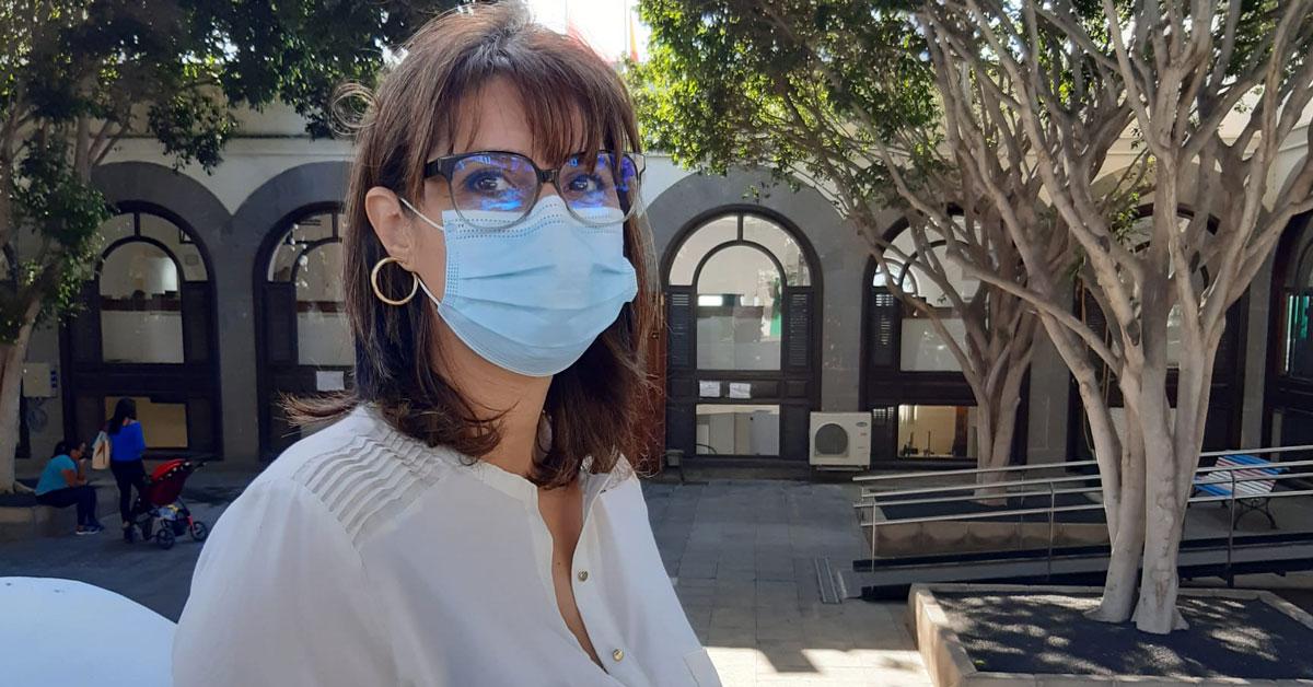Leticia Padilla, portavoz de Lanzarote En Pie en Arrecife